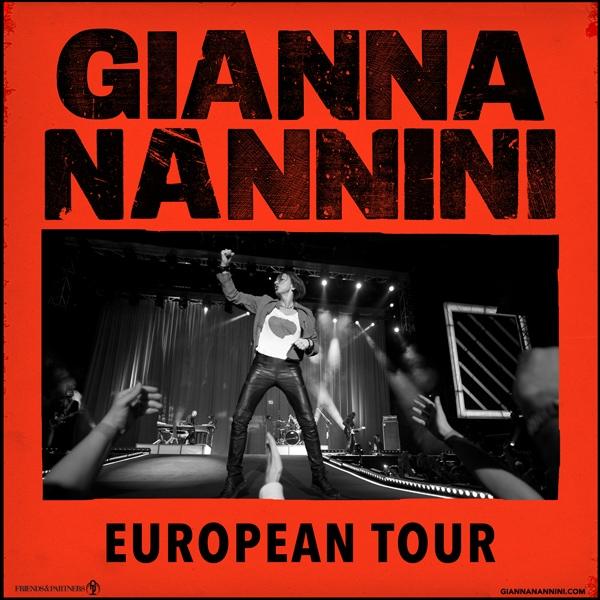 Die Gianna Nannini European Tour 2022 führt auch durch Zürich und Genf