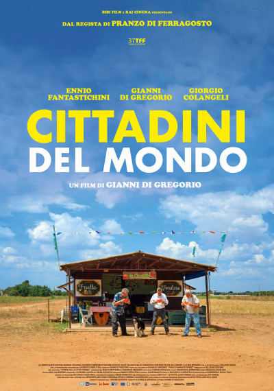 Cover Cittadini del mondo al cinema tuttoitalia xenix regista Gianni Di Gregorio