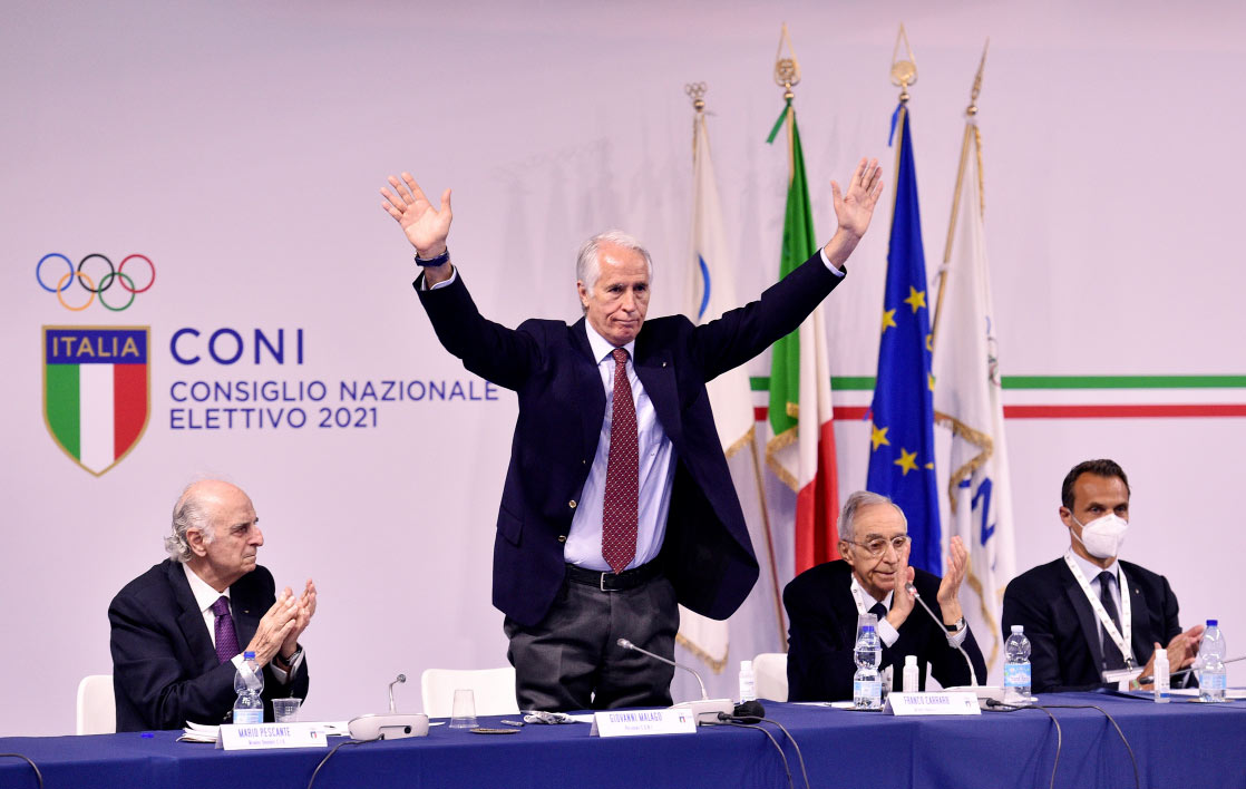 Giovanni Malagò re-elected President of CONI