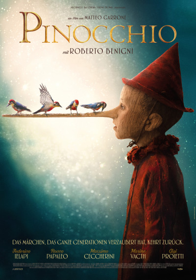 """With great anticipation, the film """"Pinocchio"""" arrives in Swiss cinemas"""