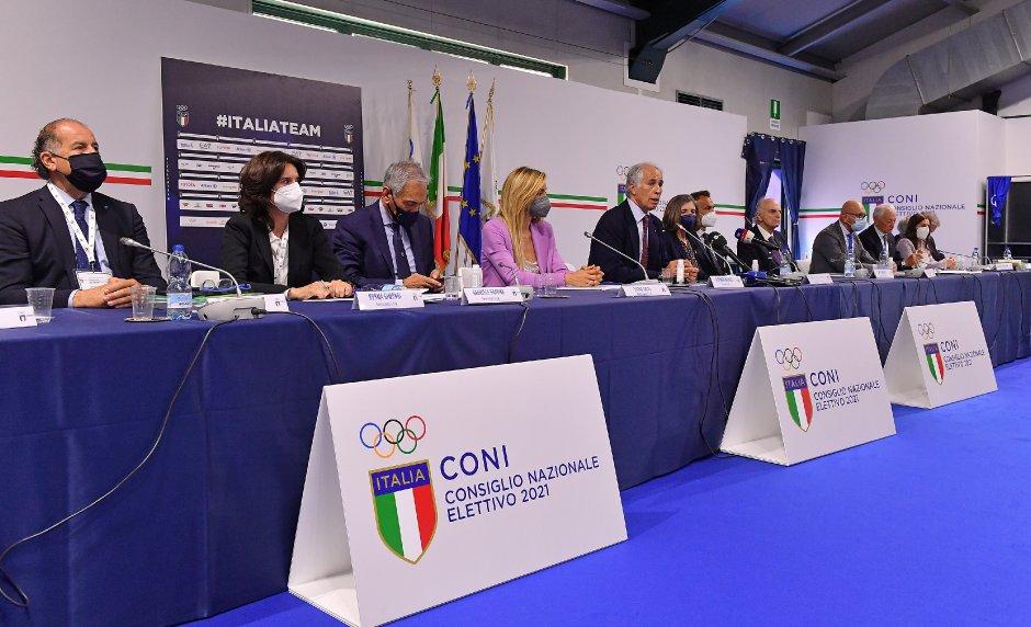Giovanni Malagò re-elected President of CONI - Photo Simone Ferraro