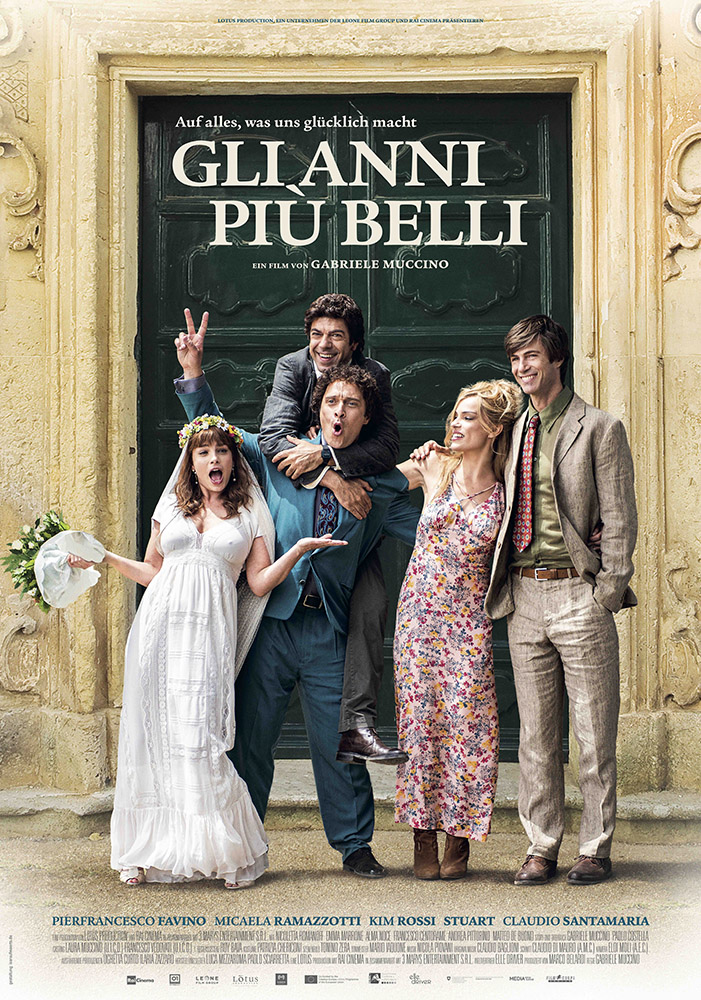 Poster Gli Anni Più Belli Film di Gabriele Muccino