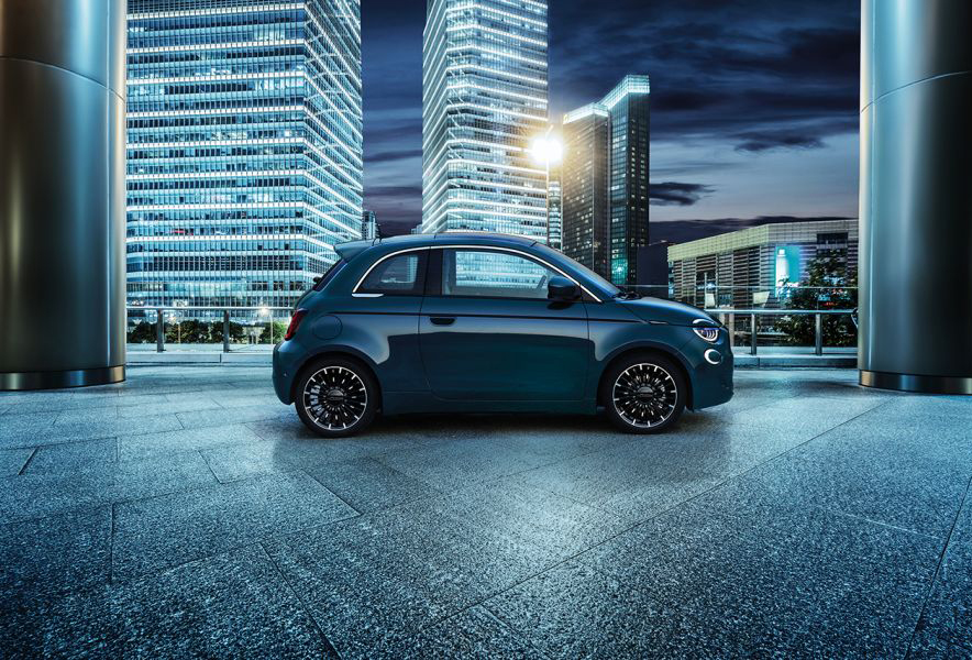 Nuova Fiat 500 3+1 city car Fiat