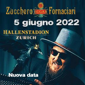 Zucchero in concerto 5 giugno 2022 Hallenstadion Zurigo