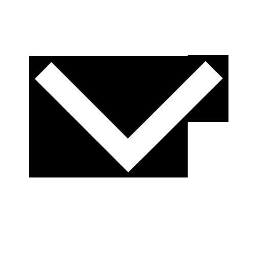 white scroll arrow