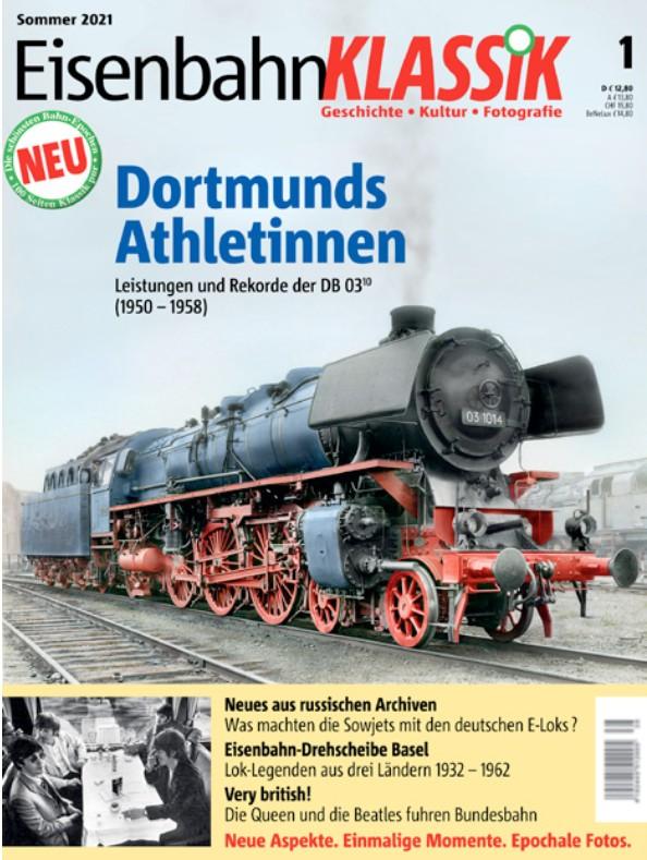 EisenbahnKlassik Zeitschrift Cover