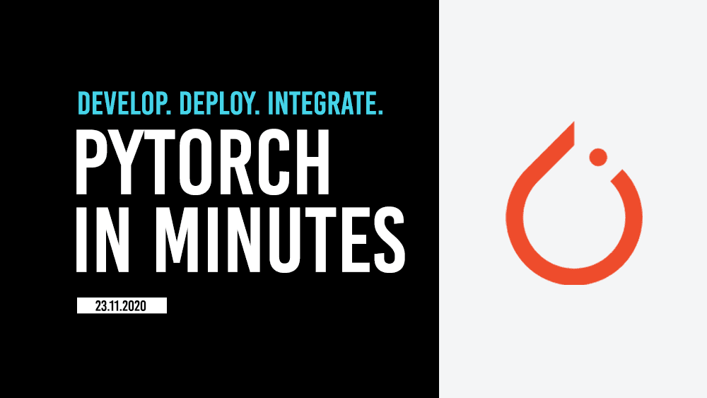 How to deploy a PyTorch model in minutes