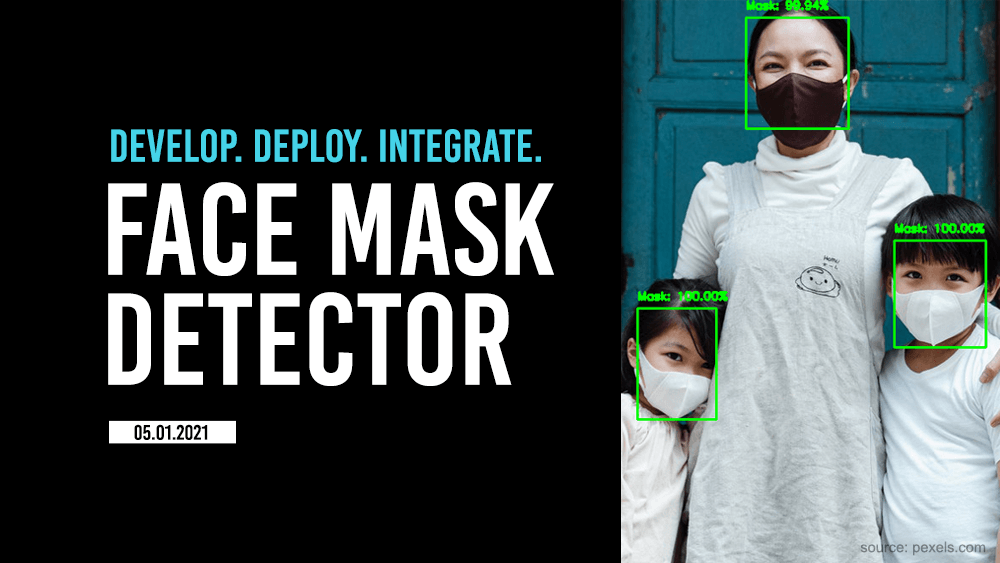 How to build face mask detector application?