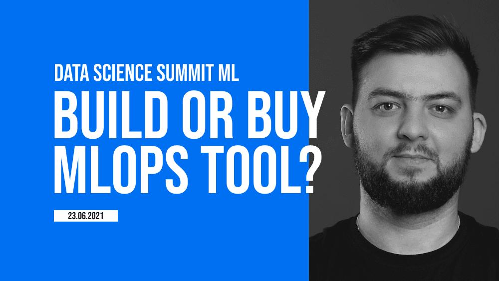 Should we build, integrate or buy the MLOps platform?
