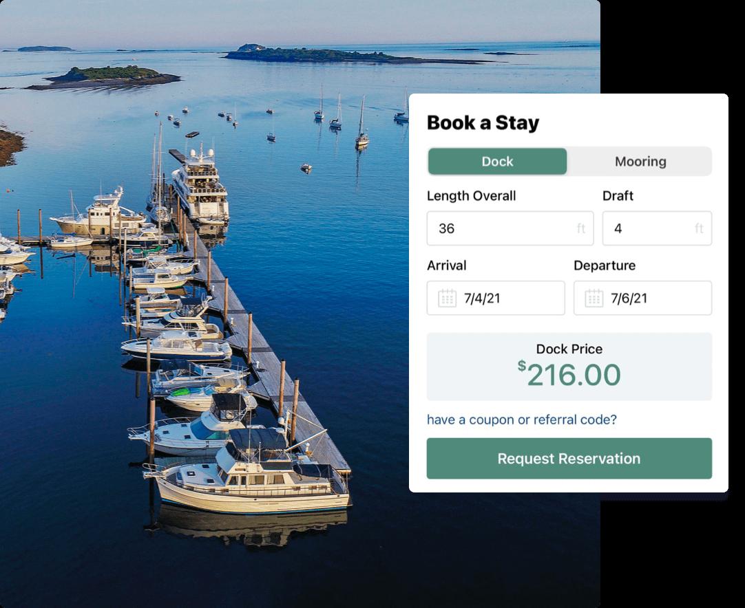 marina reservation form