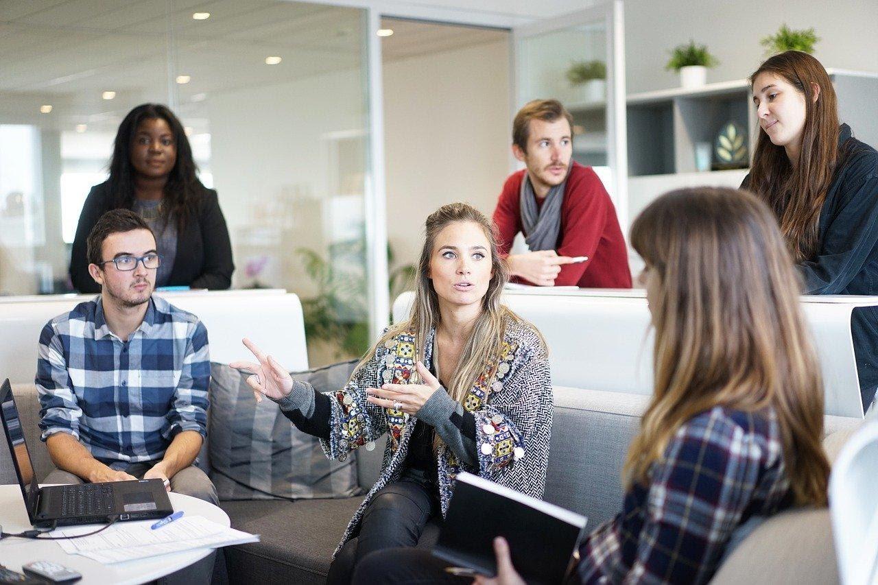 Photo of people in meeting