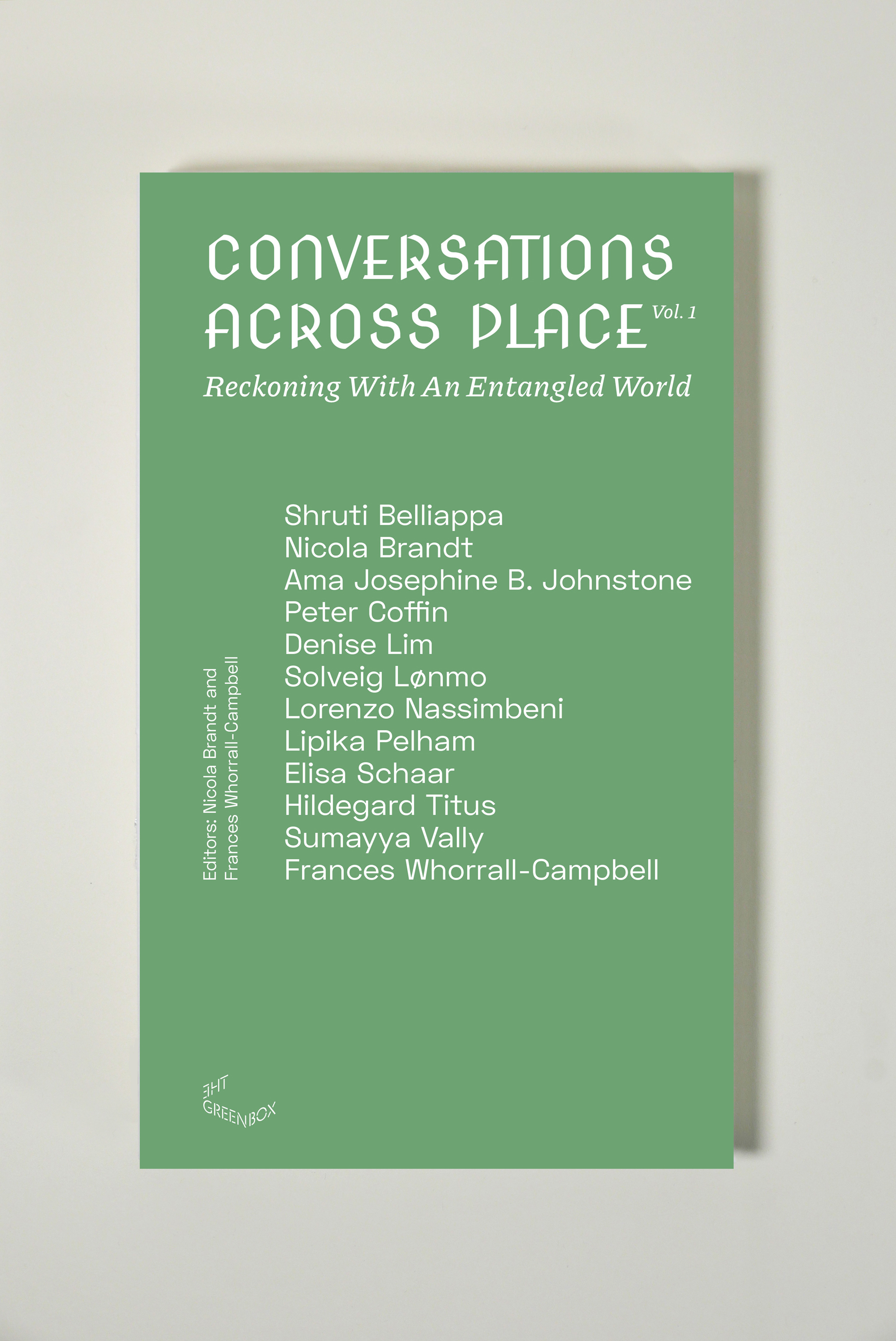 Conversations Across Place Book Cover