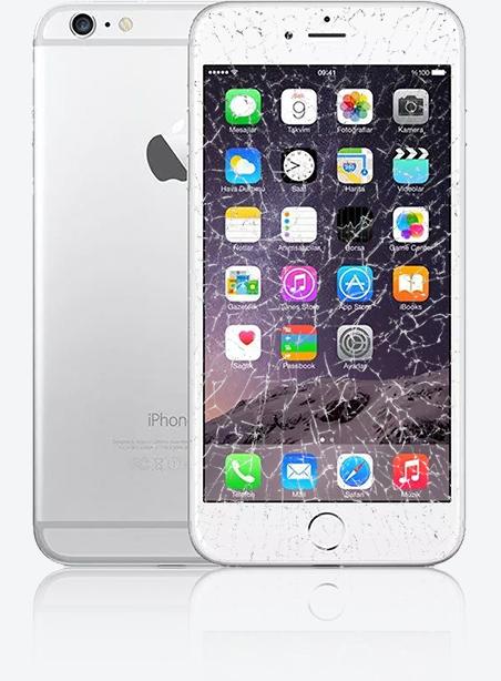 Wymiana zbitej szybki iPhone 6 Plus Gdynia