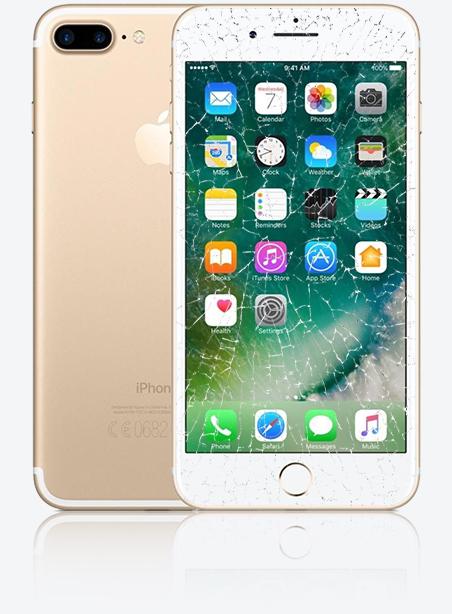 Wymiana zbitej szybki iPhone 7 Plus Gdynia