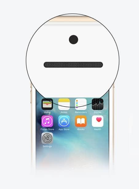 Czyszczenie cichy głośnik iPhone Gdynia