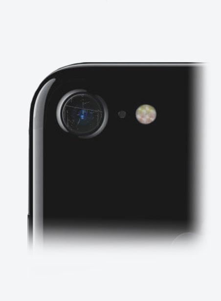 Wymiana szybki aparatu iPhone 7 Gdynia