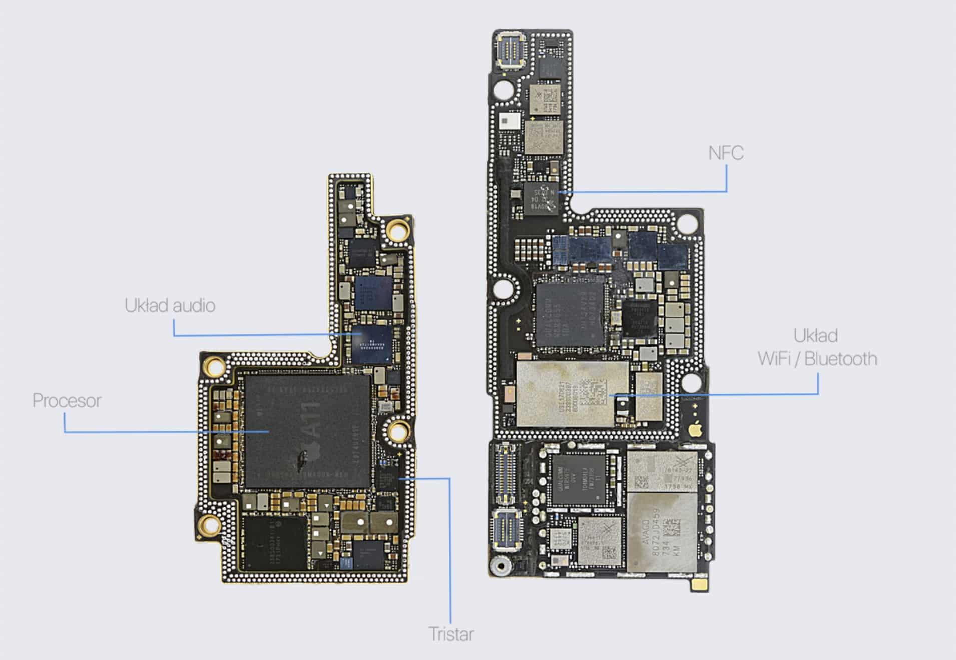 Naprawa płyt głównych iPhone