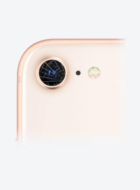 Wymiana szybki aparatu iPhone 8 Gdynia