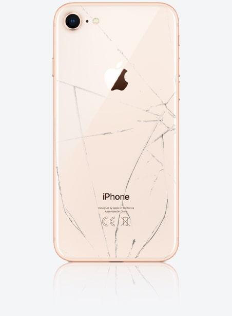 Wymiana tylnej szybki iPhone 8 Gdynia