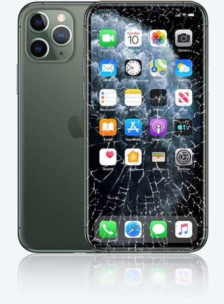 Wymiana zbitej szybki iPhone 11 Pro Gdynia