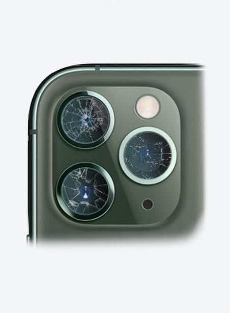 Wymiana szybki aparatu iPhone 11 Pro Gdynia