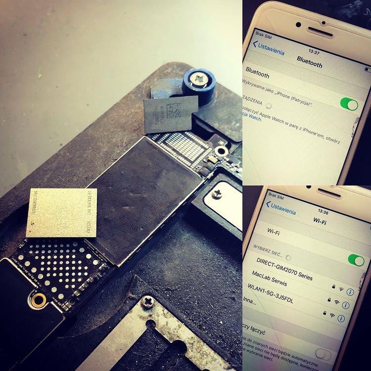 Naprawa WiFi iPhone