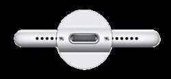 Uszkodzone złącze ładowania iPhone