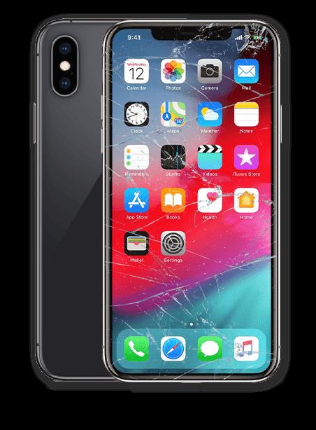 Wymiana zbitej szybki iPhone XS Max Gdynia