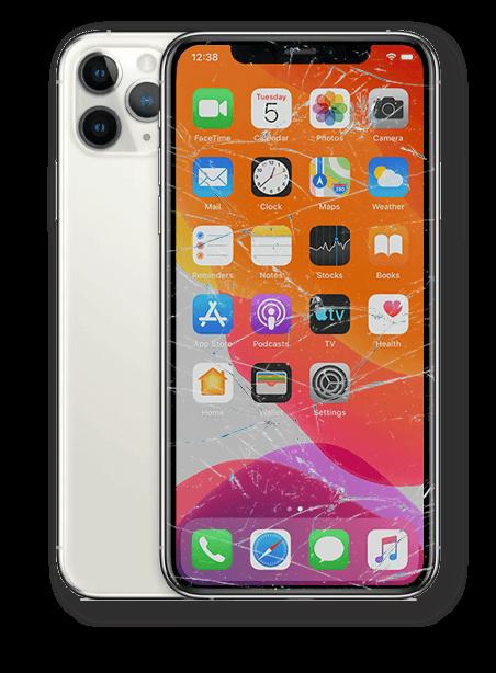 Wymiana zbitej szybki iPhone 11 Pro Max Gdynia