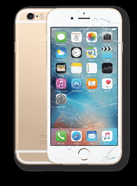 Wymiana zbitej szybki iPhone 6 Gdynia