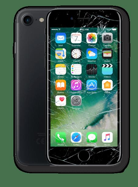 Wymiana zbitej szybki iPhone 7 Gdynia