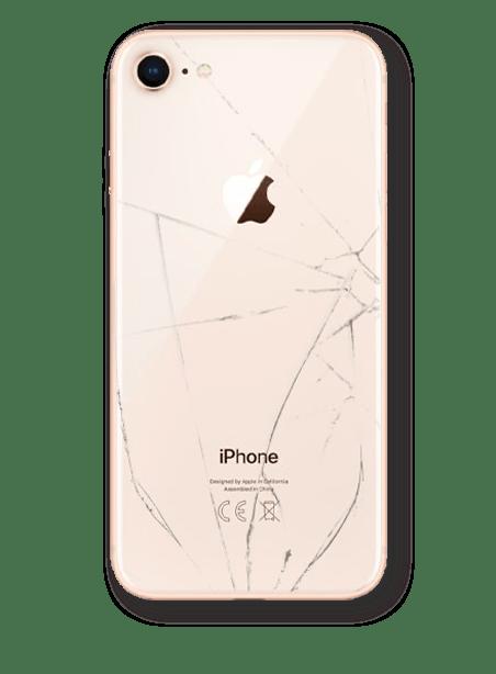 Wymiana tylnego szkła obudowy iPhone 8 Gdynia