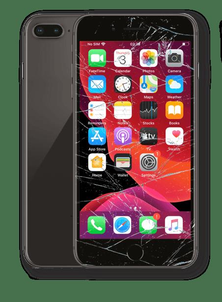 Wymiana zbitej szybki iPhone 8 Plus Gdynia