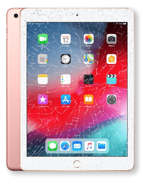 Wymiana zbitej szyby iPad 6 Gdynia