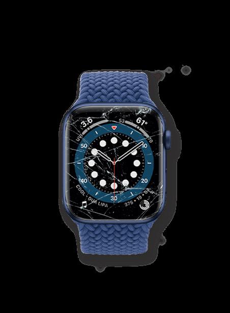 Wymiana zbitej szybki Apple Watch 6