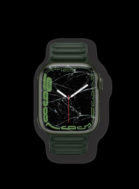 Wymiana zbitej szybki Apple Watch 7
