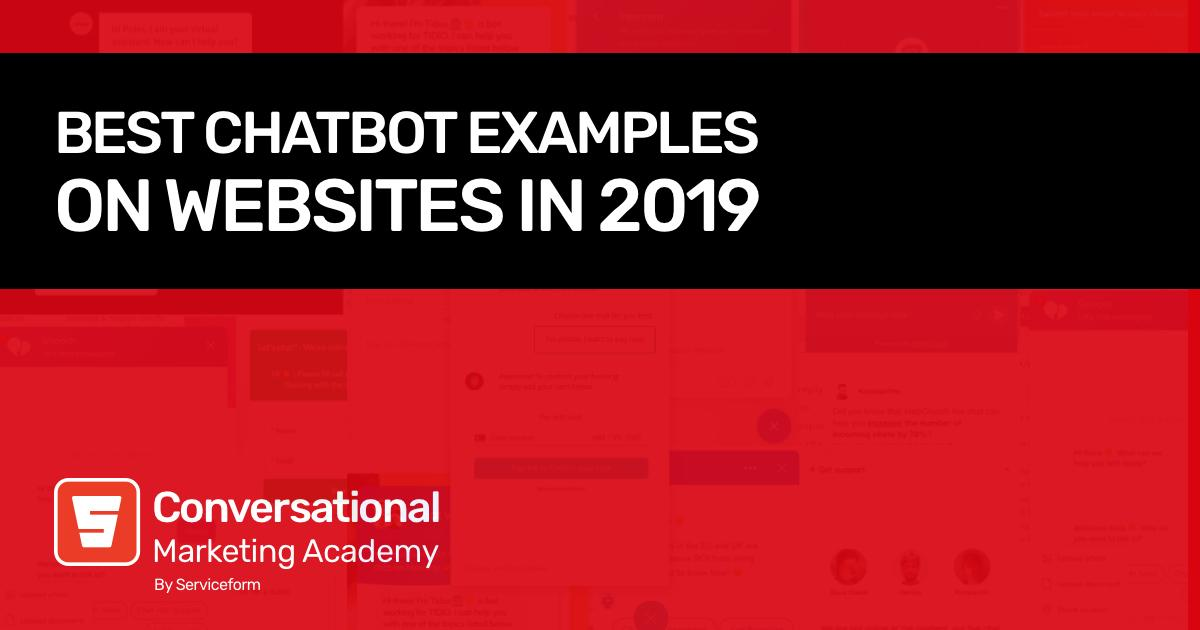 Best Chatbot Examples on Websites in 2021