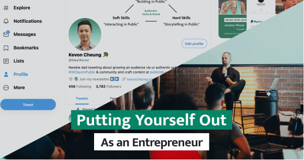Entrepreneurs must overcome their self-doubt and impostor syndrome to put themselves out there. Here is how you can do it using social media platform Twitter.