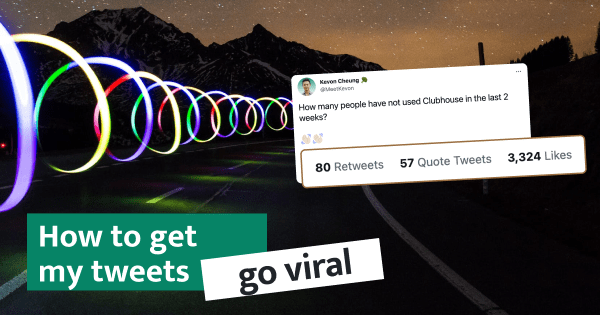 Creating virality is not your path to success in building in public and audience building. Instead, formulate a plan to ensure your average tweets get exposure.