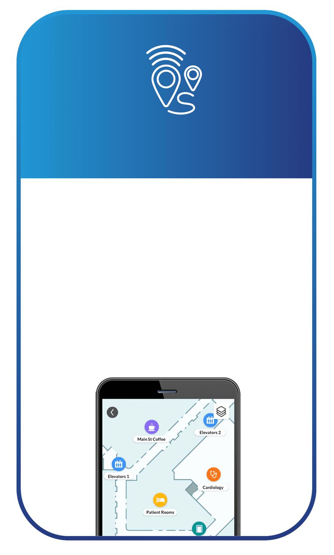 smartphone with Cox Prosight Wayfinding