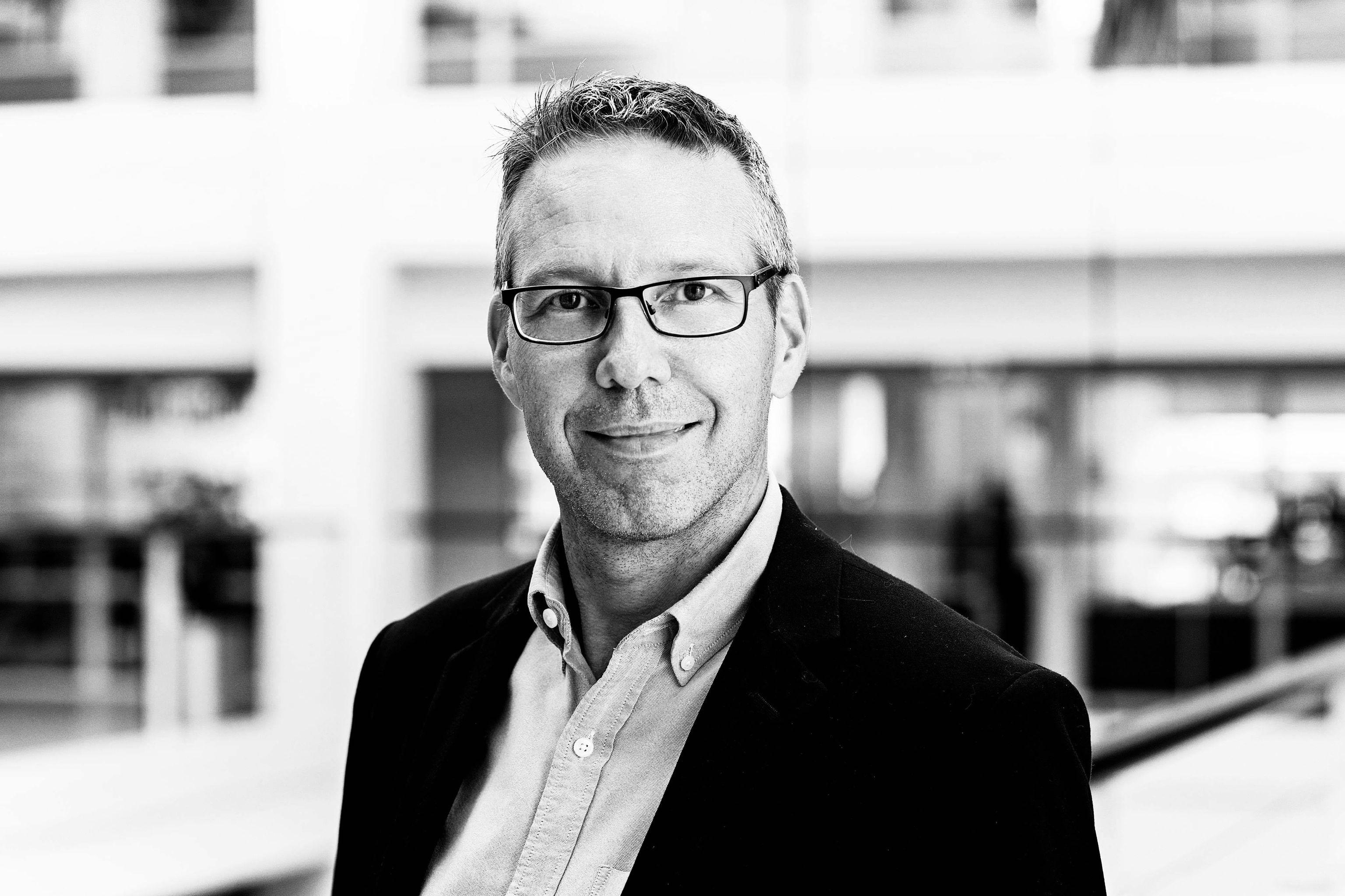 Lars Danscher er senior forretningsudvikler hos Copenhagen Business Hub - Erhvervshus Hovedstaden.