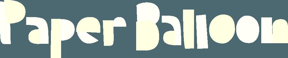 Paper Balloon Logo