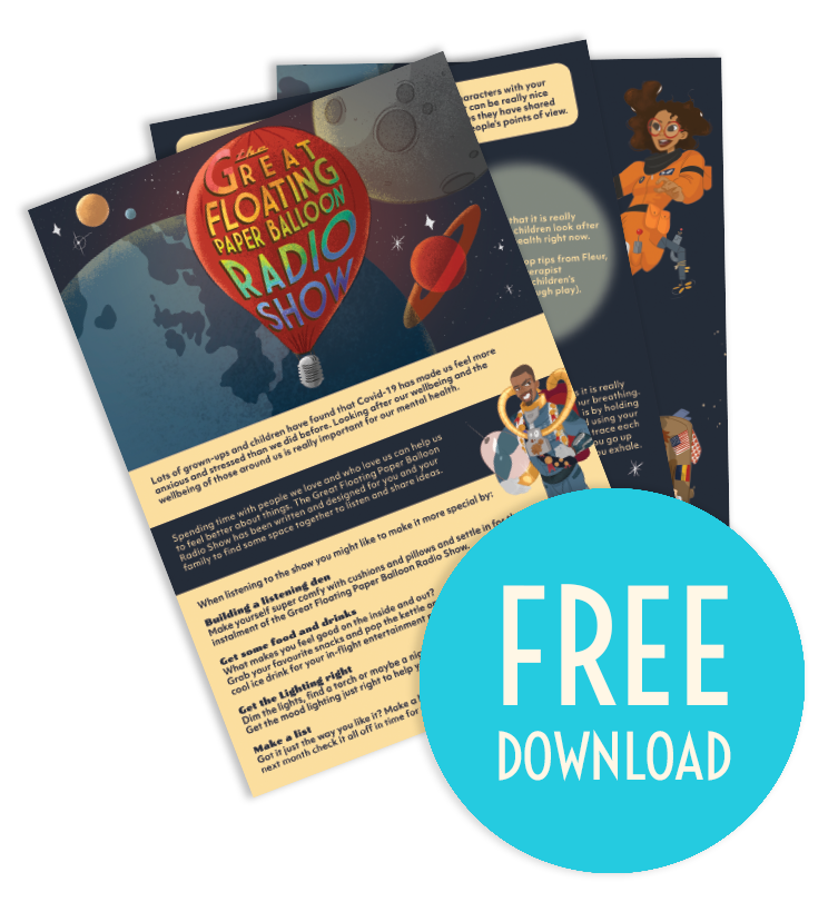 Paper Balloon Free Child Wellbeing Worksheet Download Click Below To Download