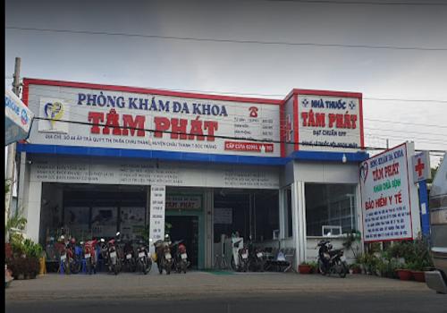 Phòng khám đa khoa Tâm Phát - 44 ấp Trà Quýt, Thị Trấn Châu Thành, Châu Thành, Sóc Trăng