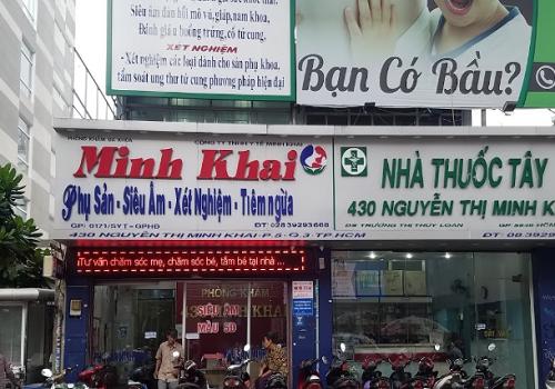 Phòng khám 430 Minh Khai - 430 Nguyễn Thị Minh Khai, Phường 5, Quận 3