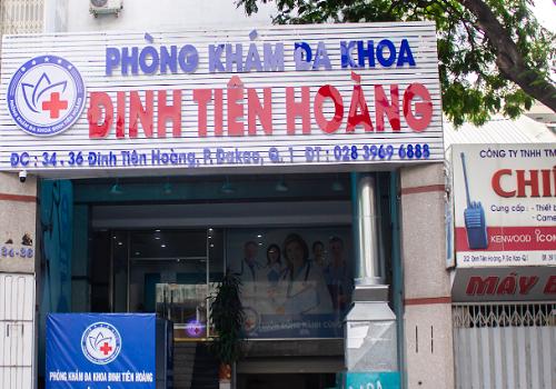 Phòng Khám Đa Khoa Đinh Tiên Hoàng - 34-36 Đinh Tiên Hoàng, Đa Kao, Quận 1