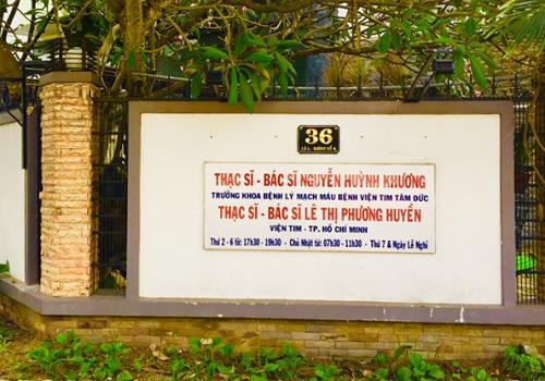 Phòng Khám Tim Mạch BS Khương - BS Huyền - 36L Đường Số 4