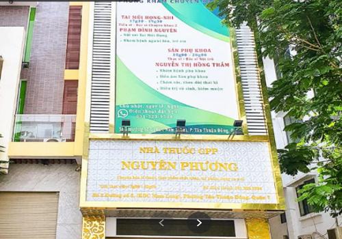 Phòng Khám Hoàng Nguyên - Số 2 Đường số 5, Tân Thuận Đông, Quận 7