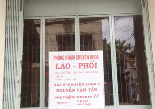 Phòng khám chuyên khoa Lao Phổi Bs Nguyễn Văn Tẩn