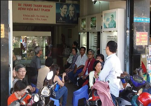 Phòng Khám Mắt Bác Sĩ Trang Thanh Nghiệp - 523 Hồng Bàng, Phường 14, Quận 5